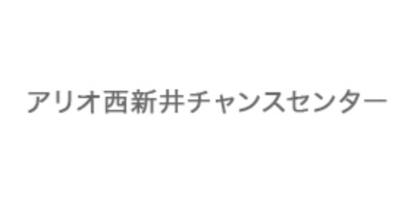 アリオ西新井チャンスセンターのロゴ画像