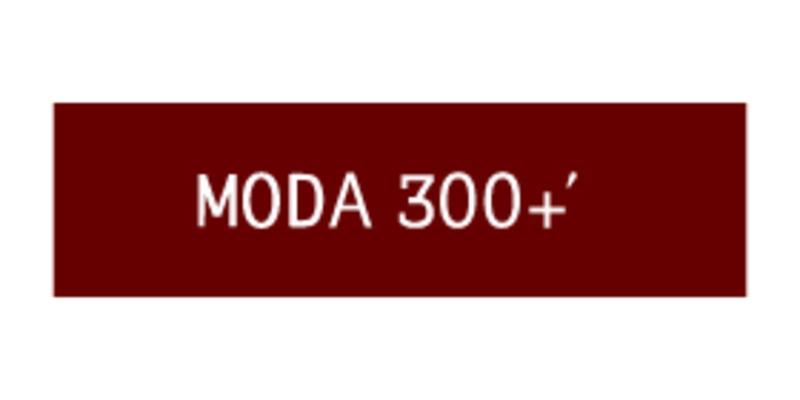 MODA300+'のロゴ画像